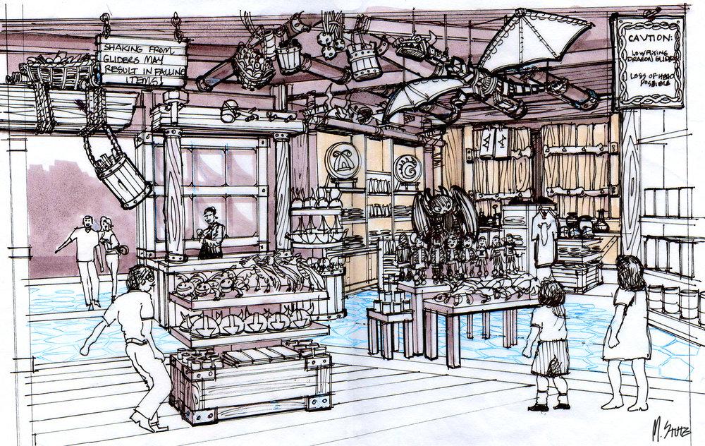 Dreamworks Store