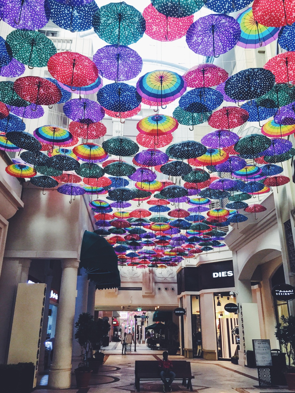 The Dubai Mall.