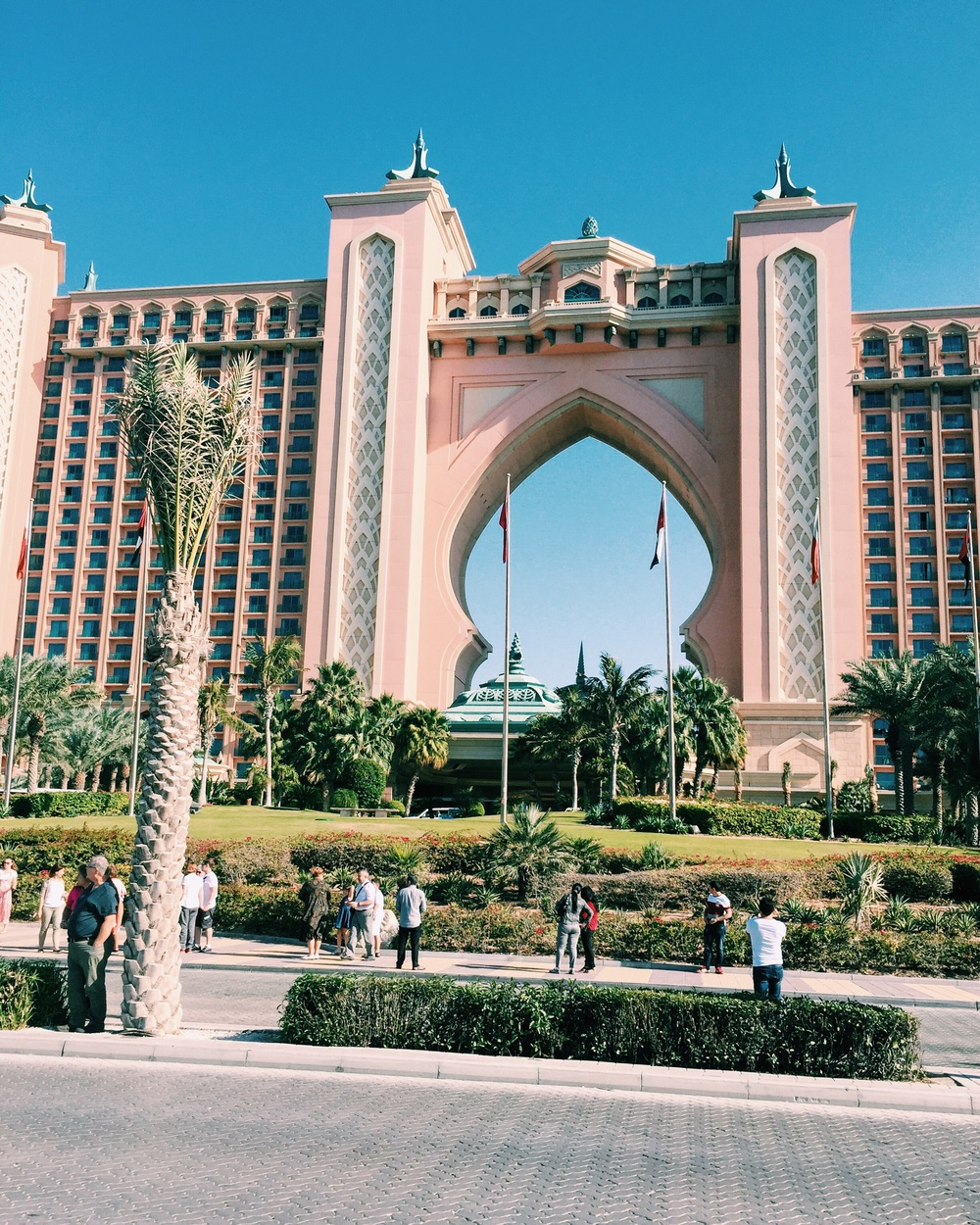 The Atlantis - One of the most beautiful resorts I have seen.