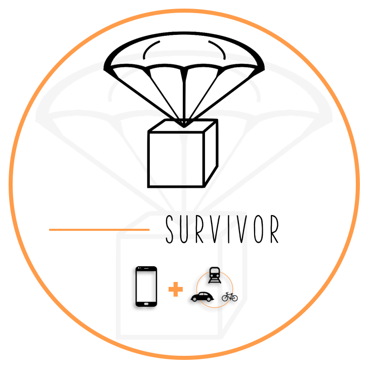 Survivor Pack   Hit the ground running with the Survivor Pack, containing all your basic needs for your time in Madrid.                                                                  from 49.00 €