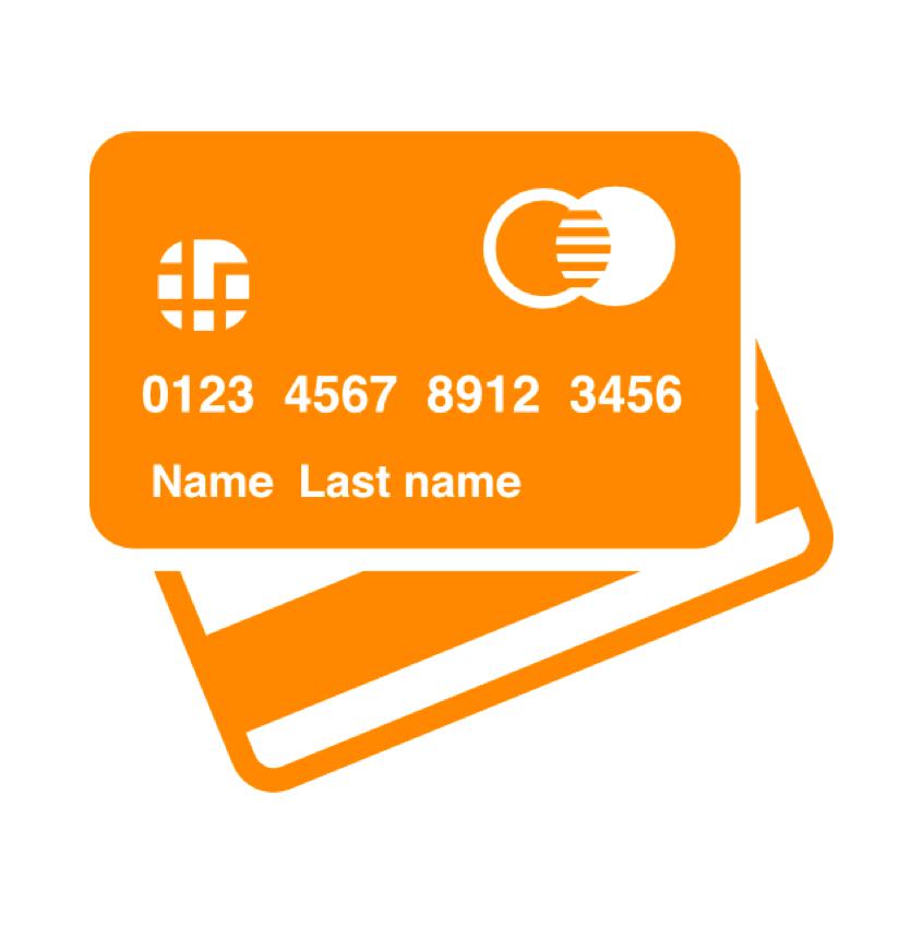 Contact-less Debit Card