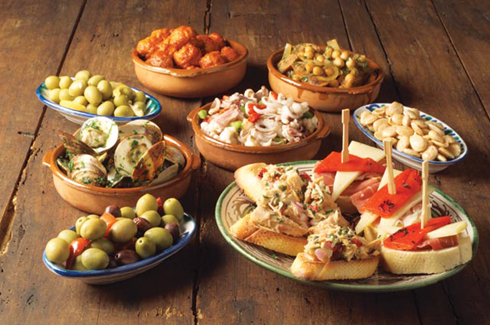 tapas in madrid spain
