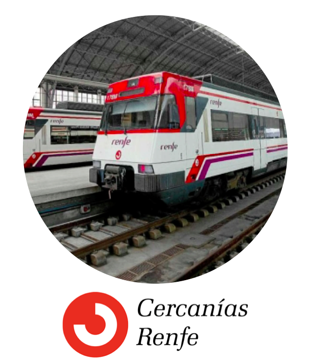 Cercanias Train in Madrid
