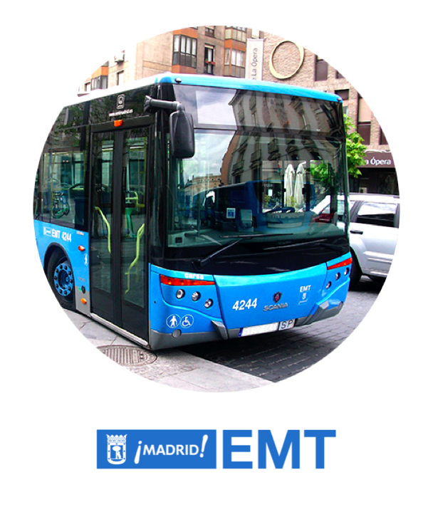 Buses EMT Madrid