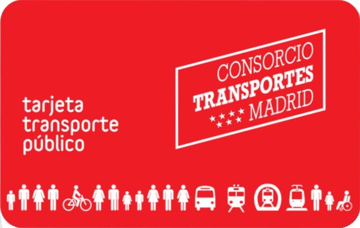 Tarjeta de Transporte Set a foot
