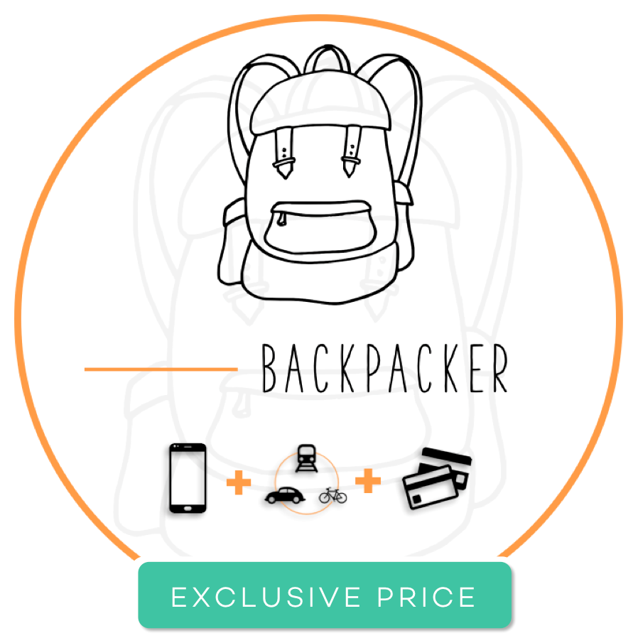 Backpacker Pack (accommodation + transportation + banking + FREE Airport Pick-up)