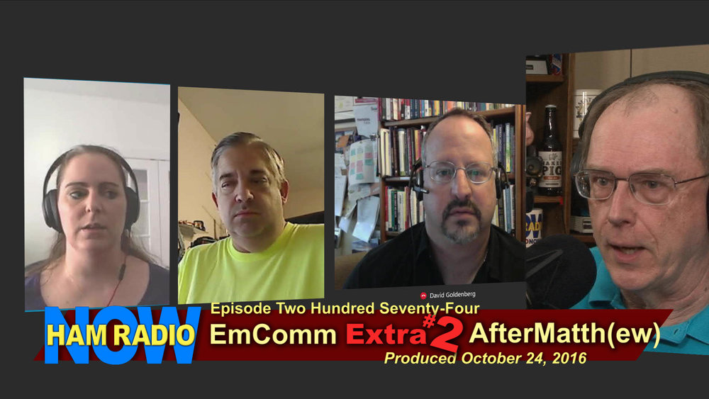 HRN 274 - EmComm Extra #2: AfterMatth(ew) on HamRadioNow