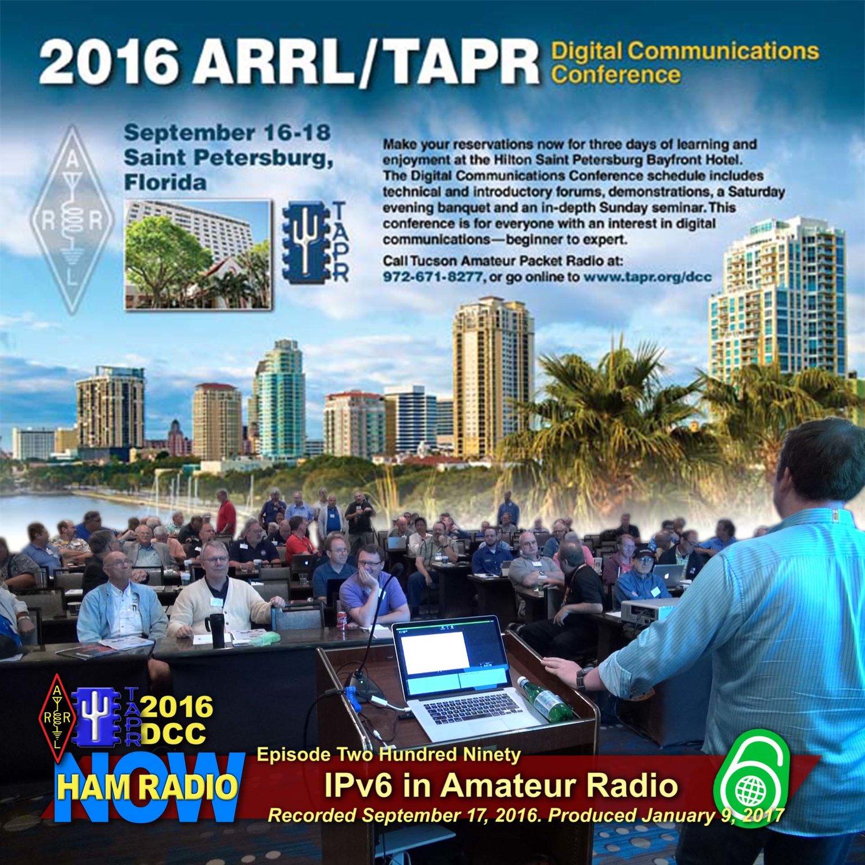 HRN 290: IPv6 in Amateur Radio, HamWAN Tampa Update from the