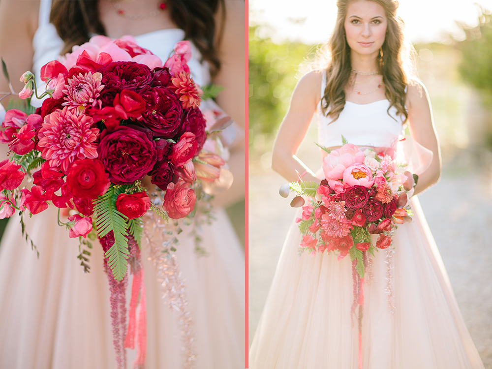 ombre bouquet