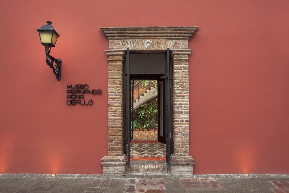 Entrada al Museo. C/ José Reyes esq. C/ Padre Billini #251