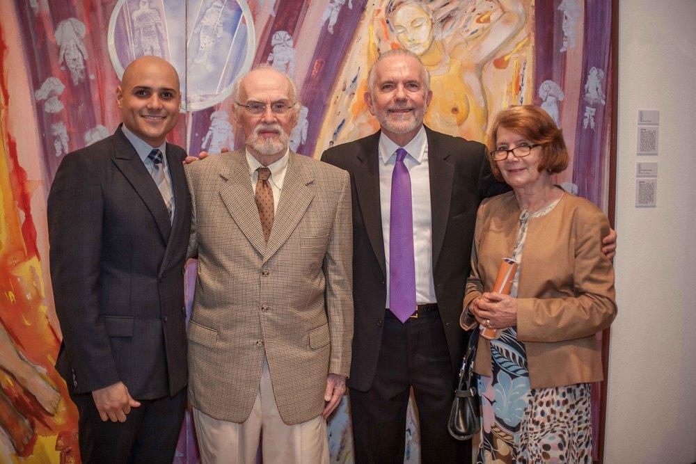 FOTO PRINCIPAL Alex Martínez Suárez, Fernando Peña Defilló, Manolo Hazoury y Marianne de Tolentino.jpg