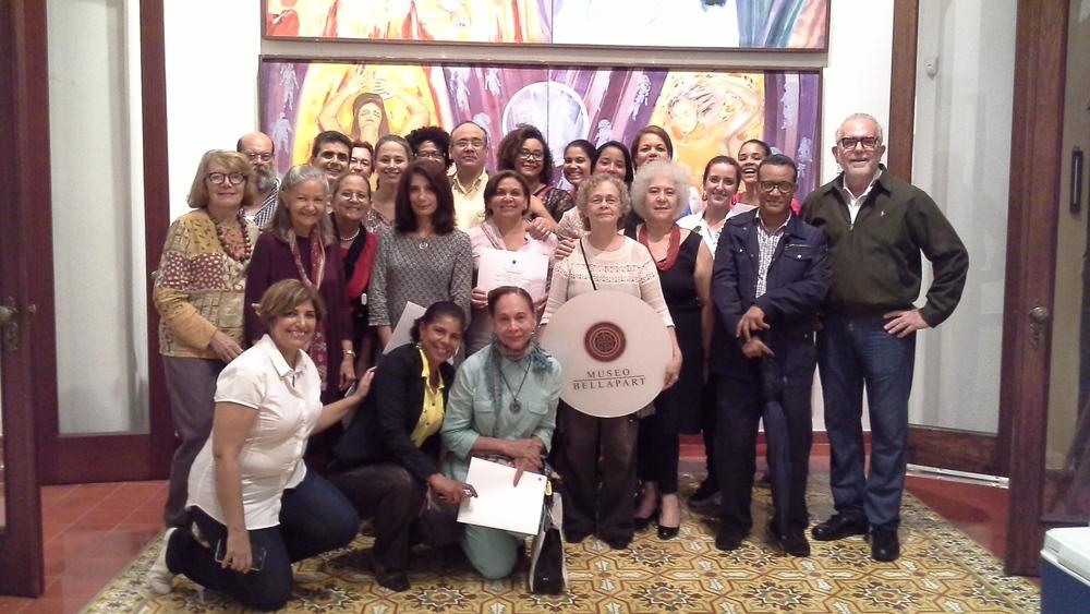 DSCN2791. 20160507_185850 Participantes, profesores y directivos Museo Fernando Peña Defilló..jpg