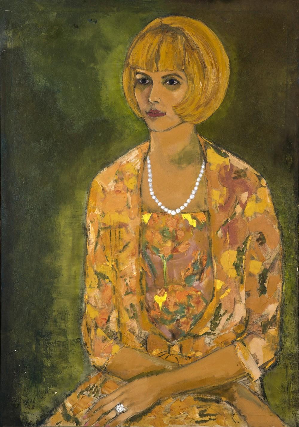 Retrato de Elsita, 1963.