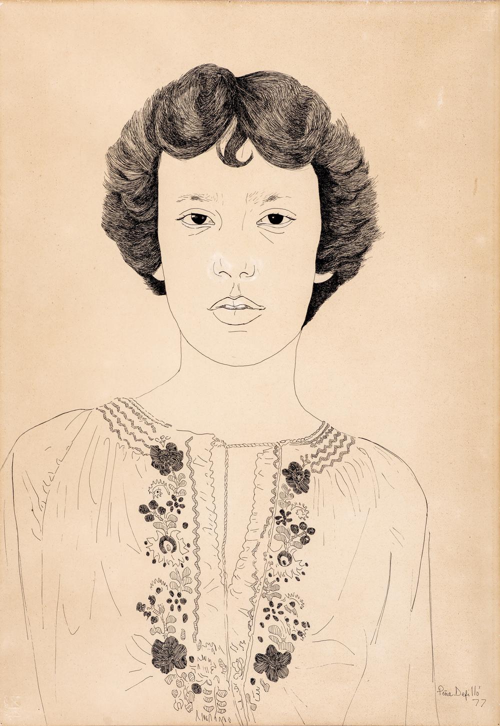 Retrato de Patricia, 1977.
