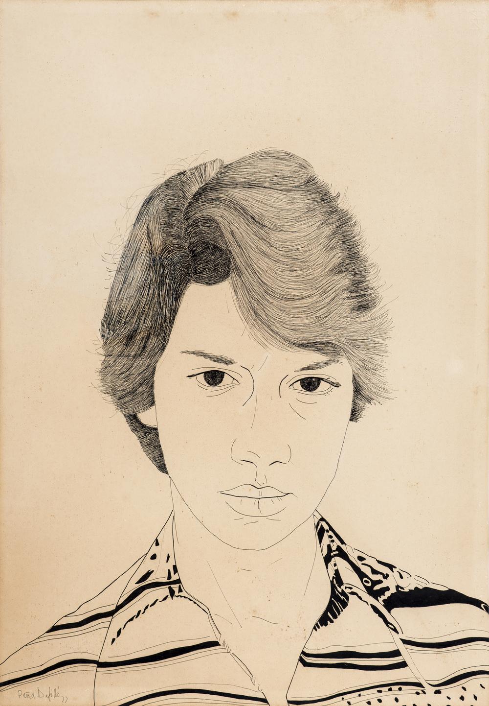 Retrato de Inés, 1977.