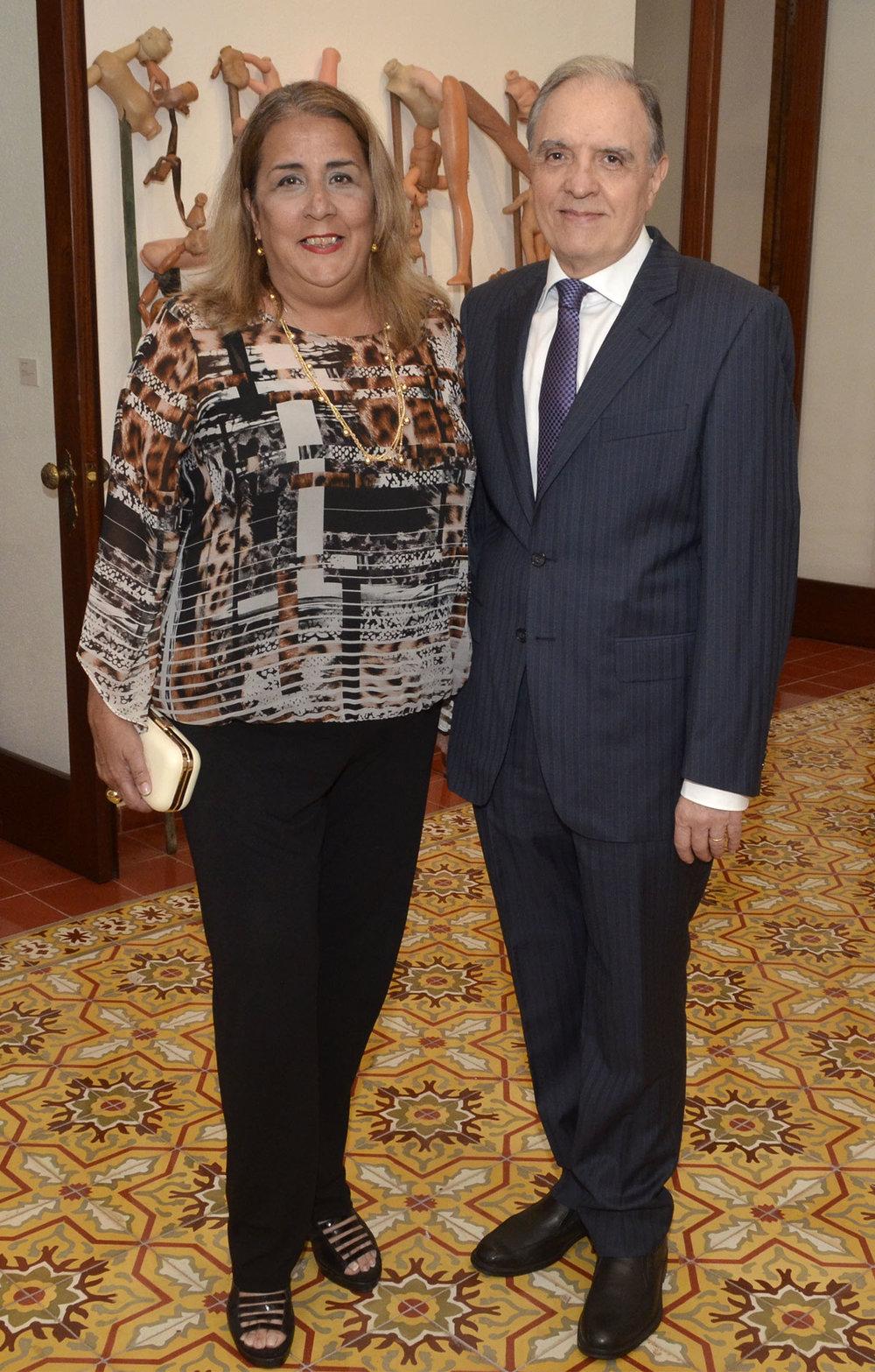 María del Mar Tavárez y Luis Calle