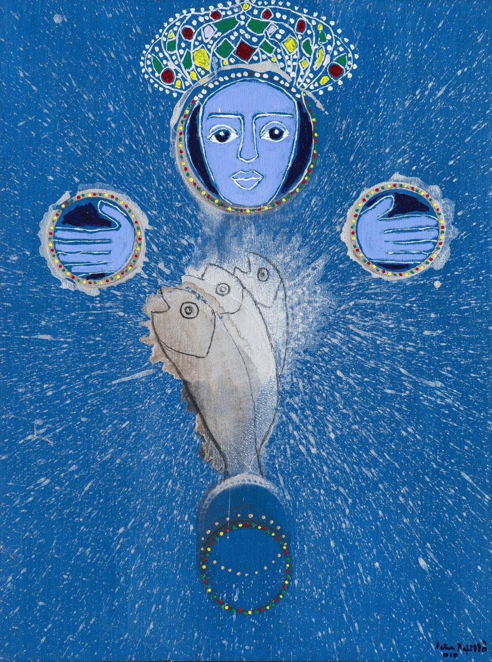 La Virgen de los peces (2010). Fernando Peña Defilló