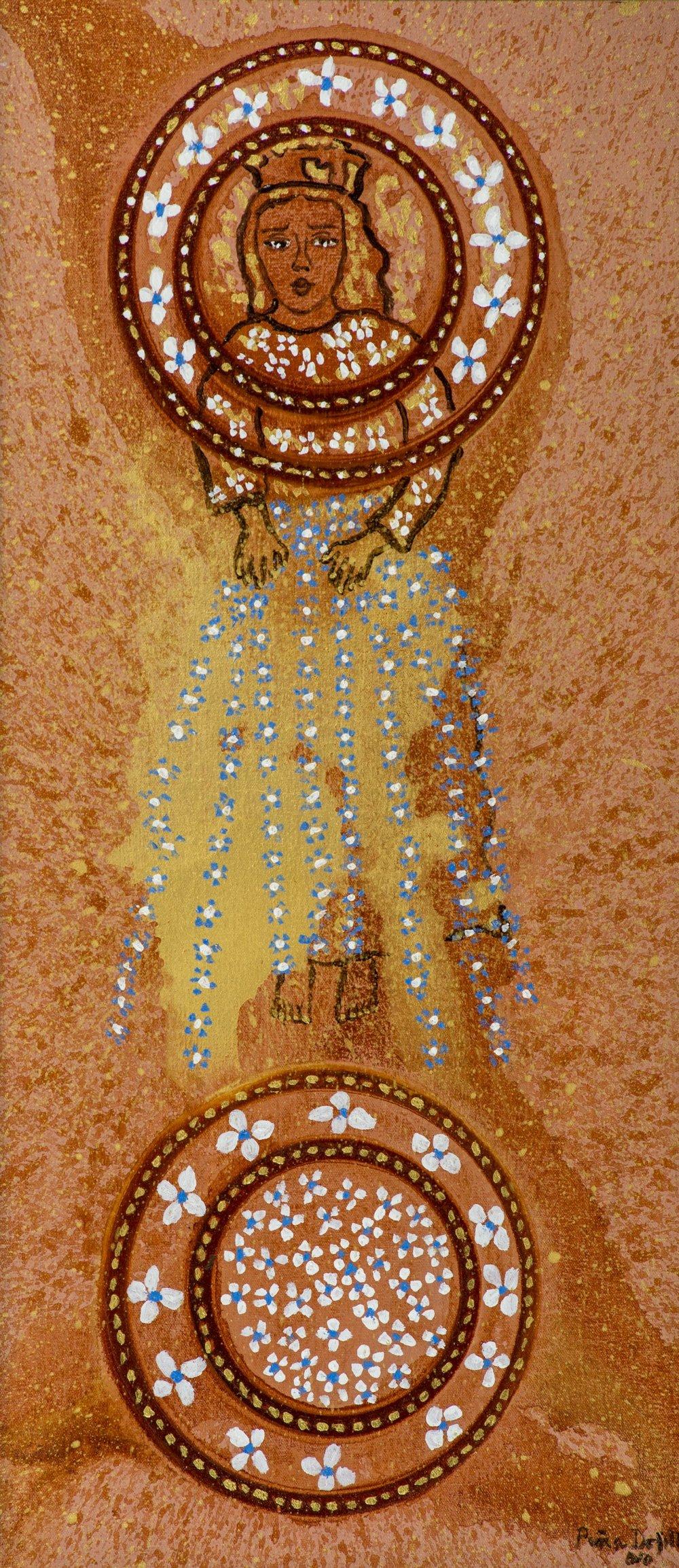 Virgen niña (2010). Fernando Peña Defilló