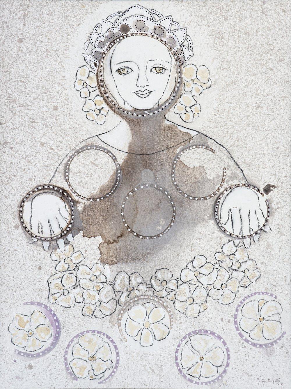Virgen cuántica (2010). Fernando Peña Defilló