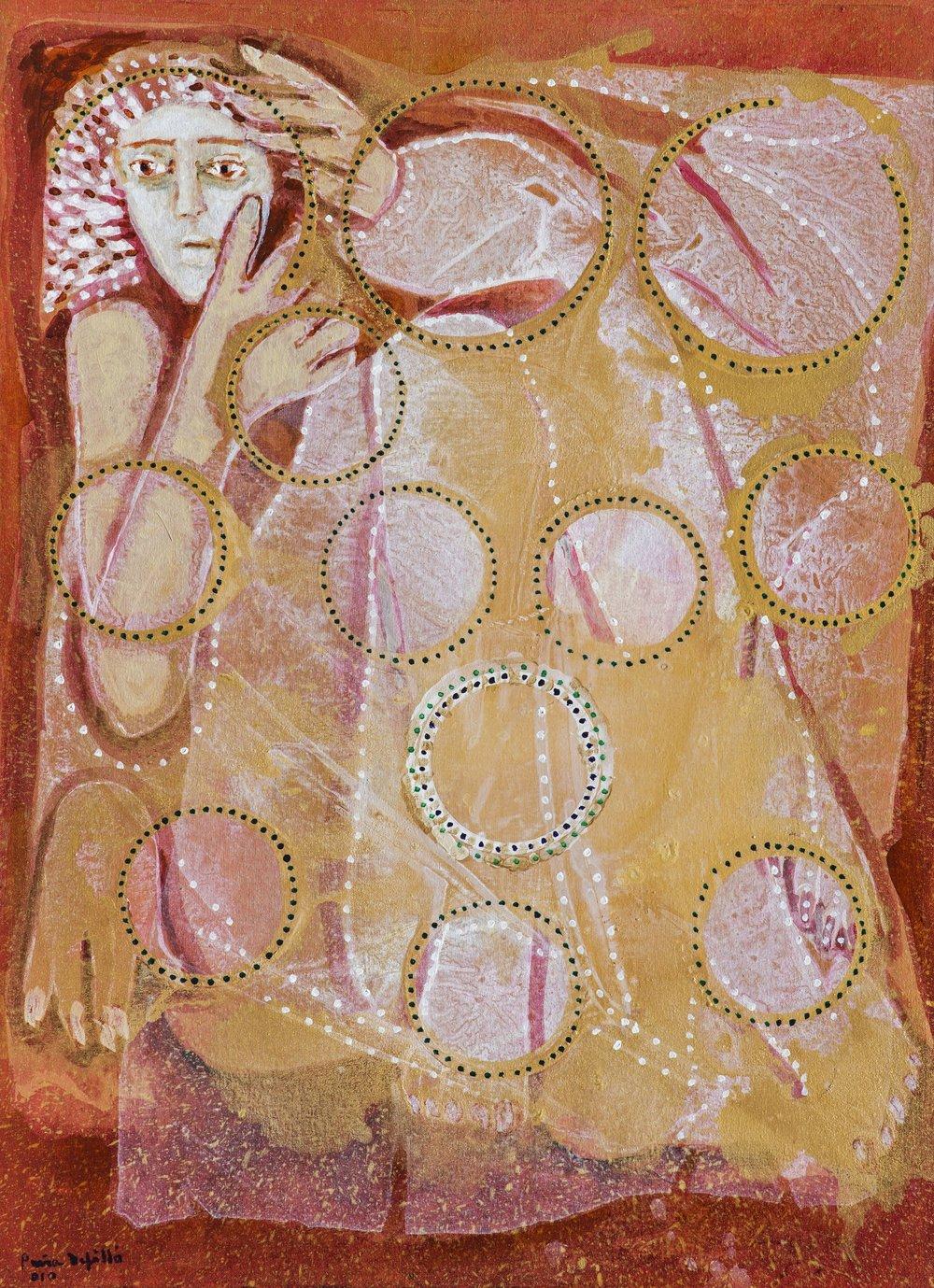 Virgen sidere (2010). Fernando Peña Defilló