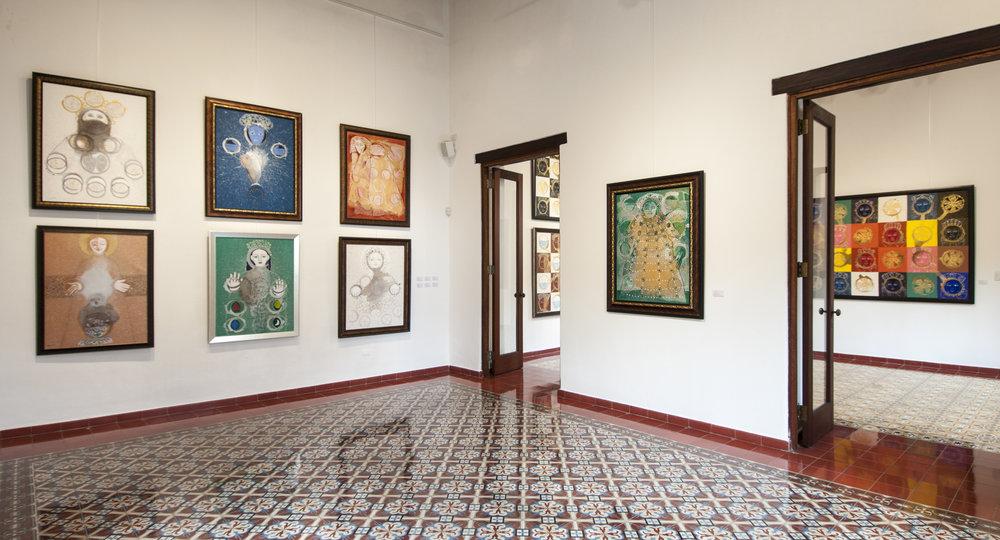 "Sala 2 de ""Vírgenes de Peña Defilló"""
