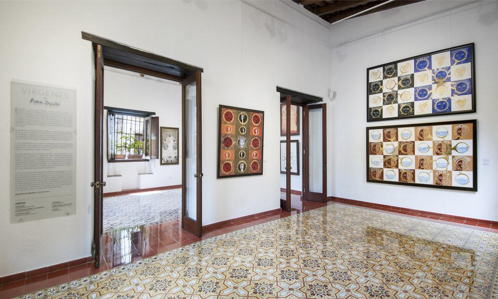 """Sala 1, exposición """"Vírgenes de Peña Defilló"""""""