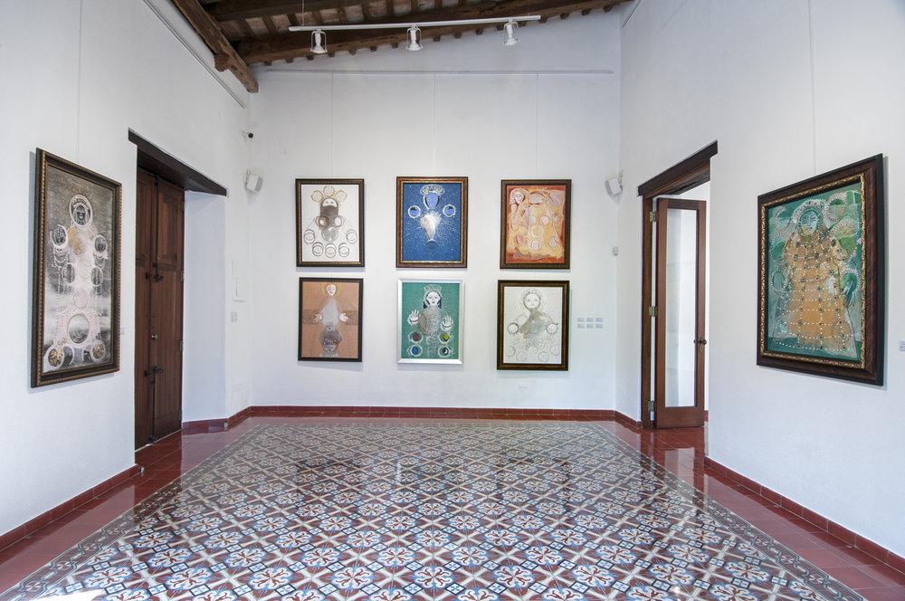 """Sala 2, exposición """"Vírgenes de Peña Defilló"""""""