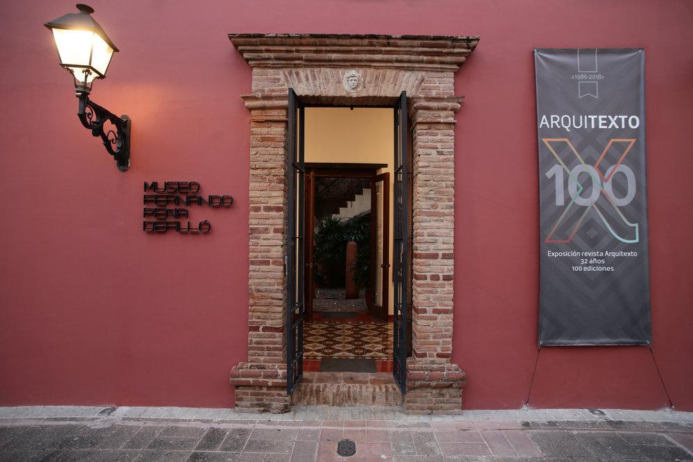 Arquitecto 100 en el Museo Fernando Peña Defilló