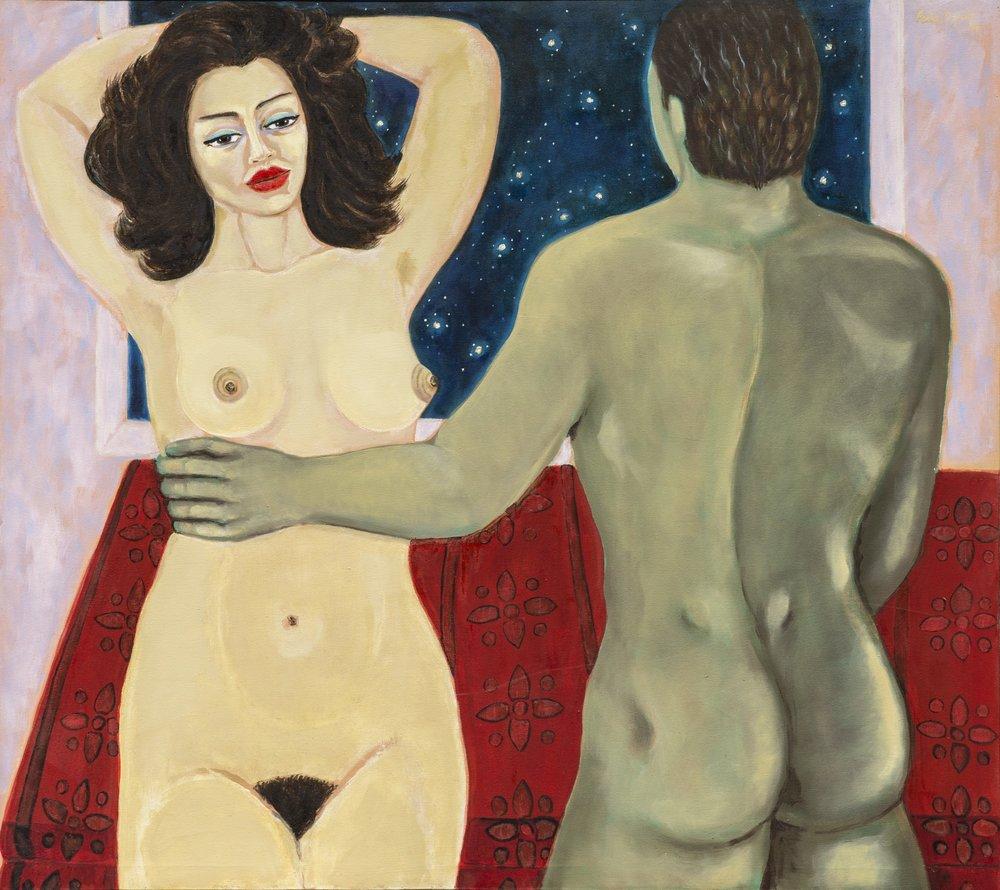 """Arráncame la vida (1998). Óleo sobre tela. 50 x 56"""""""