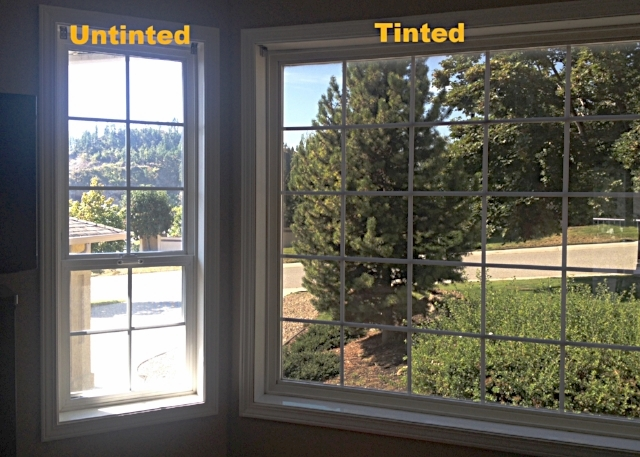 tinted glass window black tinted window solar bronze 15 residential commercial pics tint works kelowna tinting