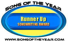 The Song of the Year songwriting contest has awarded Tera Johnson the Runner Up placement for BEAUTY AIN'T. Song of the Year receives entries from all over the world and only the top songwriters receive a Runner Up placement in the songwriting competition.