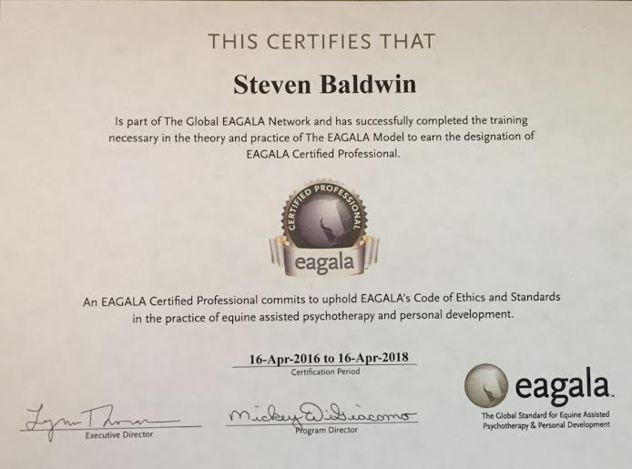 EAGALA Certification — Front Range Ranch & Rescue