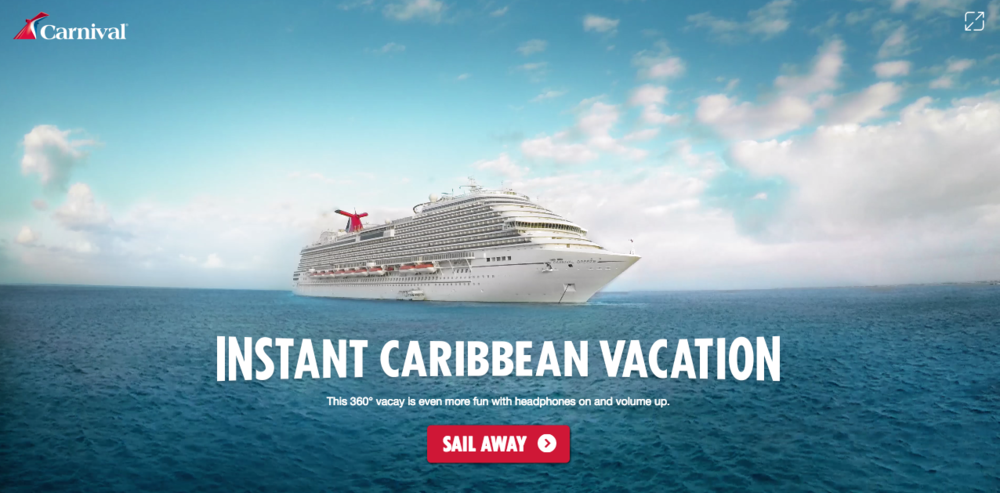 Carnival Cruise Lines - Instant Caribbean Vacation