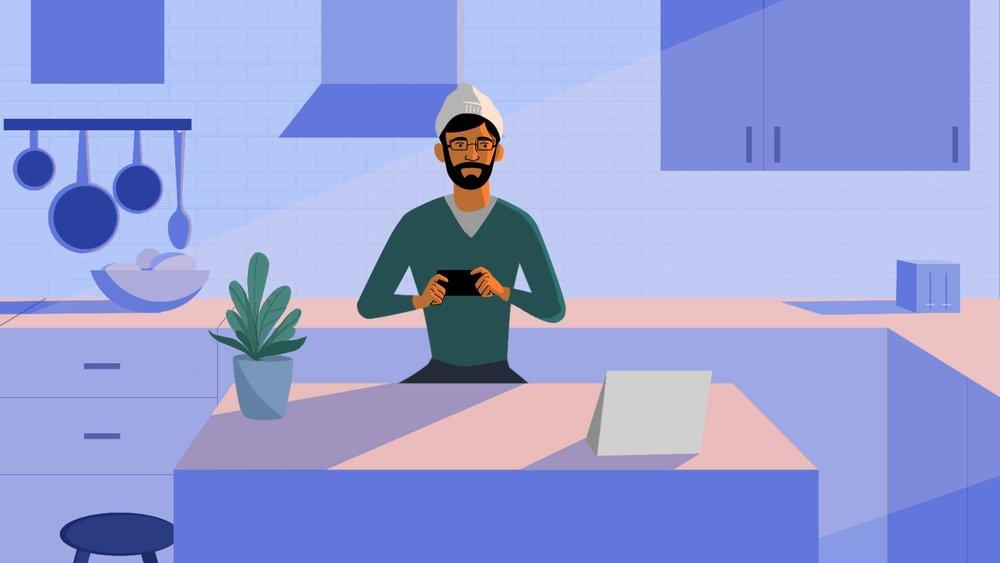 06 Kitchen Scene 02 - Guy with Phone 1080p (0-00-04-06).jpg