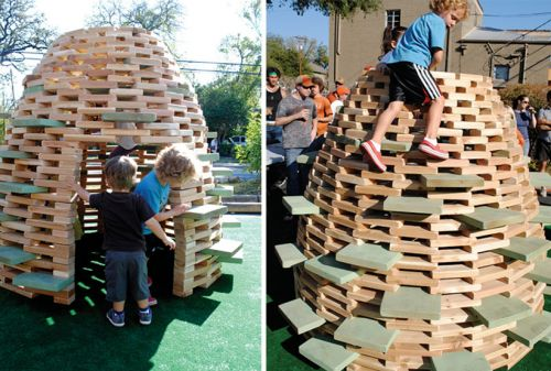 1. The PlayHive - 5 Backyard Play Structures That Won't Make You Want To Gouge Out