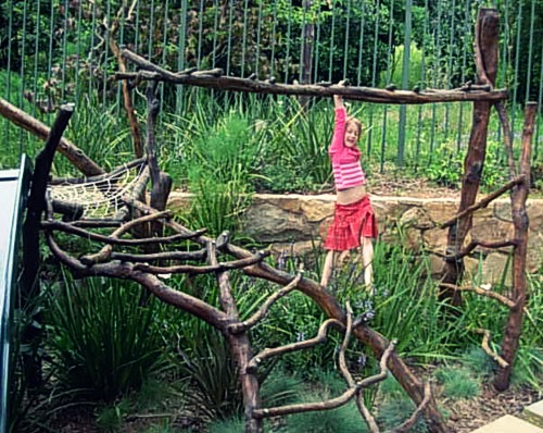 2. Organic Jungle Gyms - 5 Backyard Play Structures That Won't Make You Want To Gouge Out