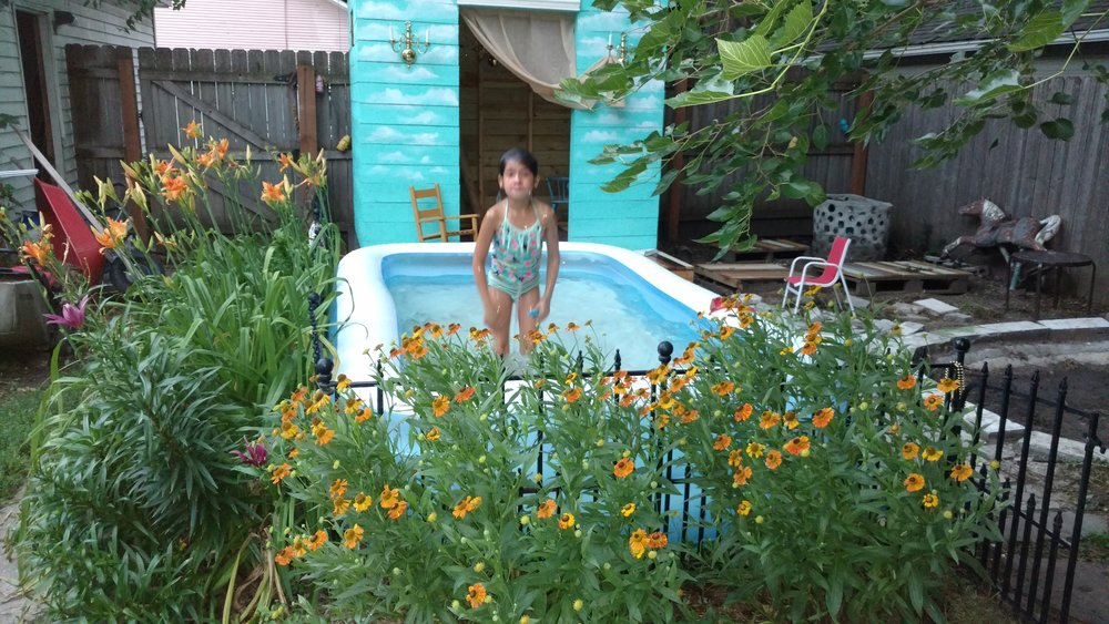 Clean Backyard how to keep the kiddie pool water clean all summer long — the