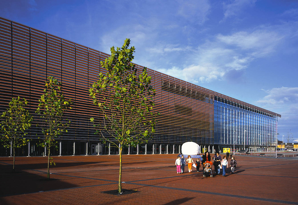 Millennium Point, Birmingham, UK. Grimshaw Architects.