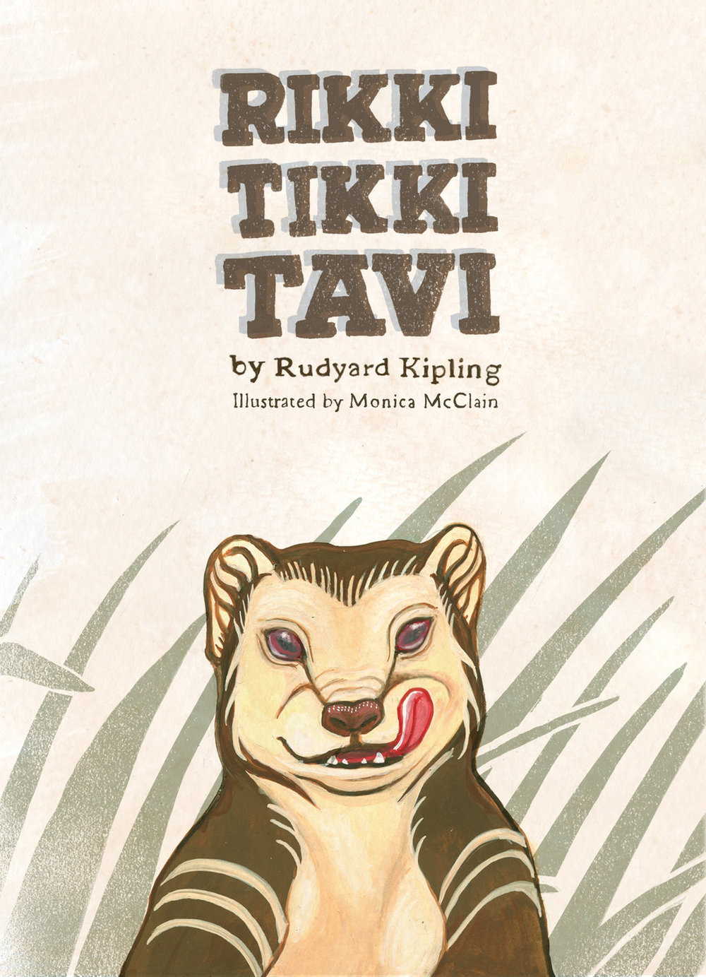 rikki tikki tavi cover by monica mcclain