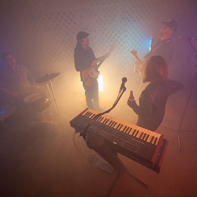 A few shots of us and the awesome crew from the video shoot the other night. Photo credit: @studiomccutch