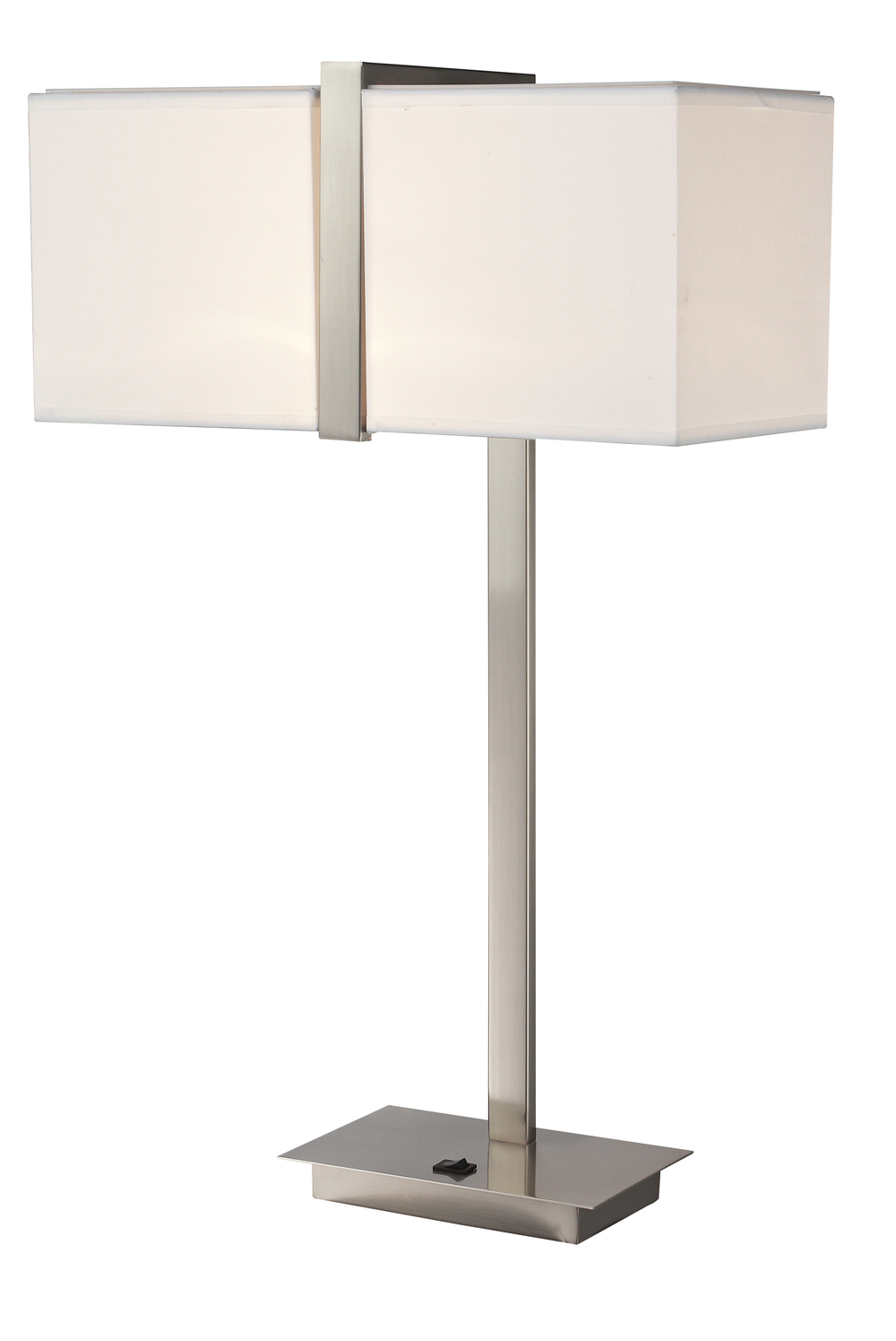 10021 | SILVER WRAP TABLE LAMP