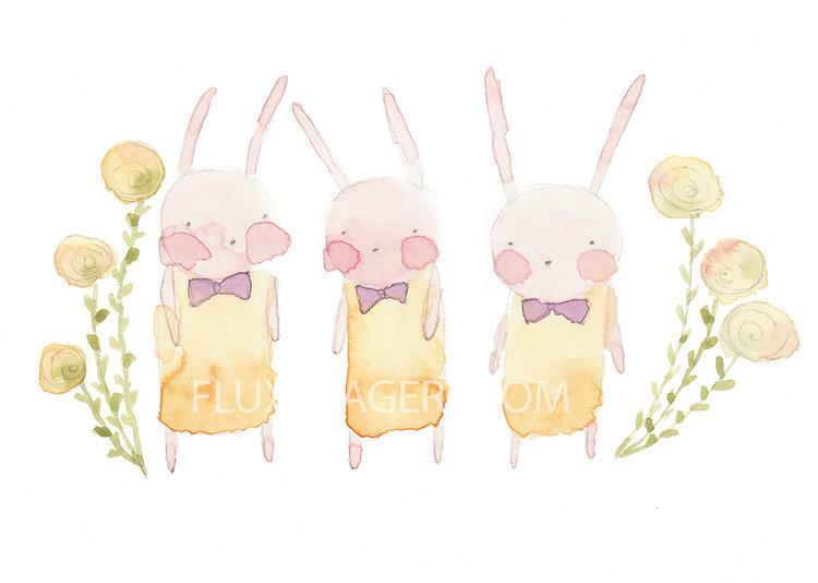 bunniesbowtiesflowerswatercolorprint.jpg