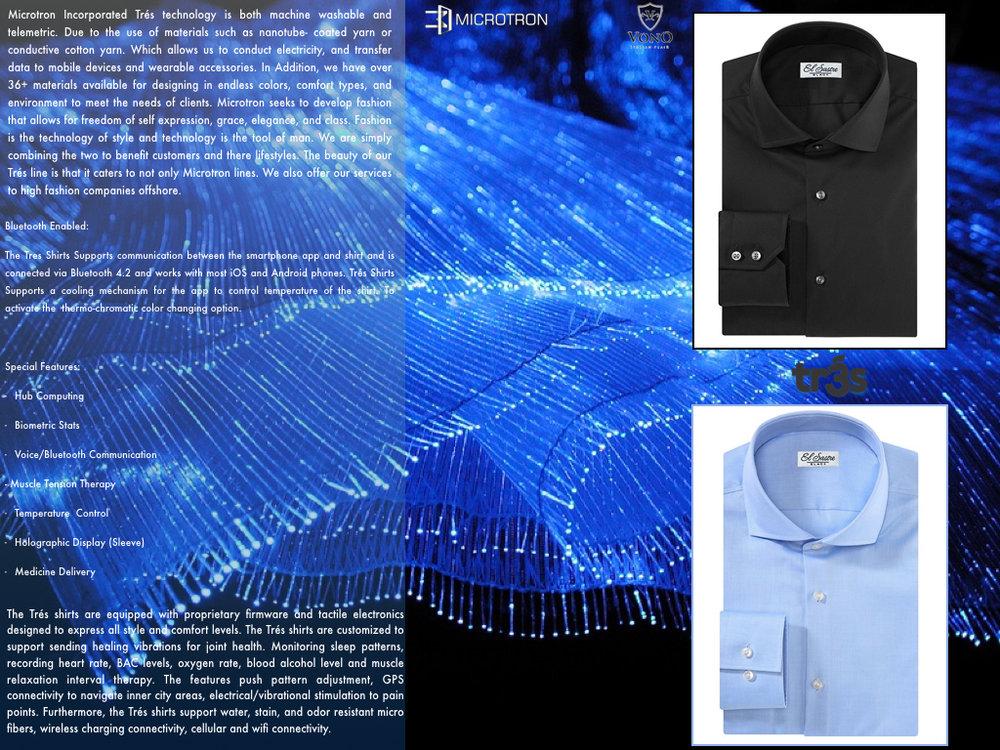 Trés Biocompatible Smart Shirts
