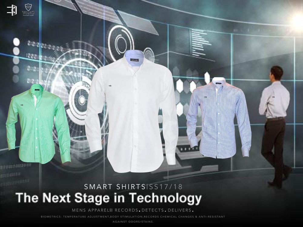 Trés IoT Integrated Smart Shirts