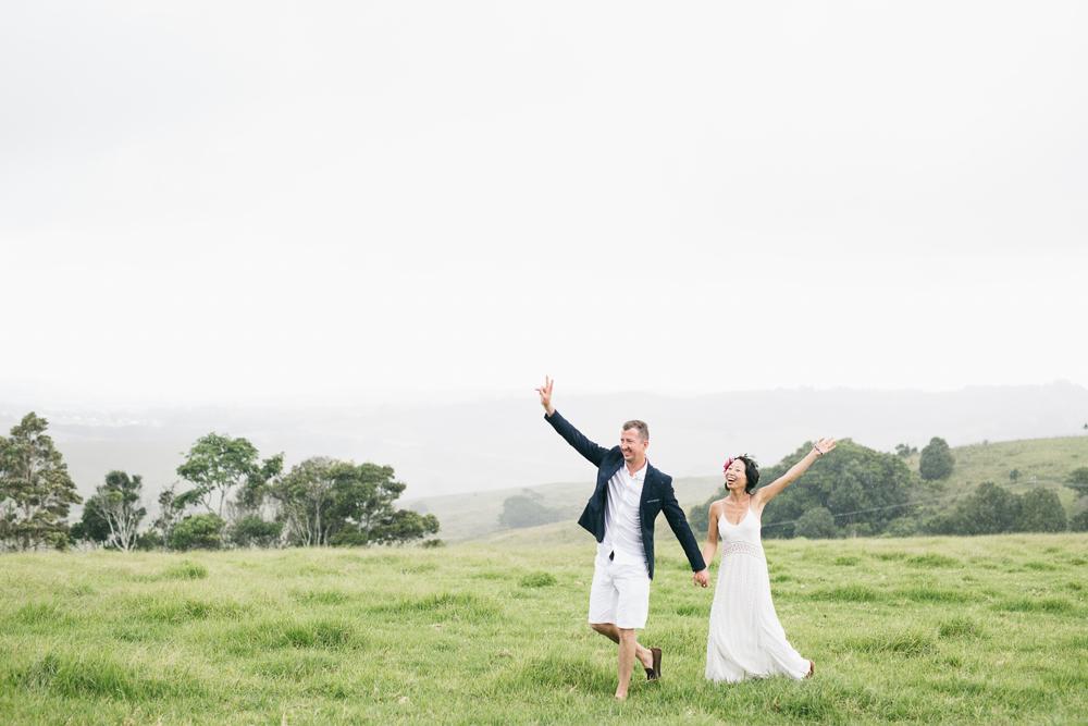 Byron View Farm Wedding Byron Bay