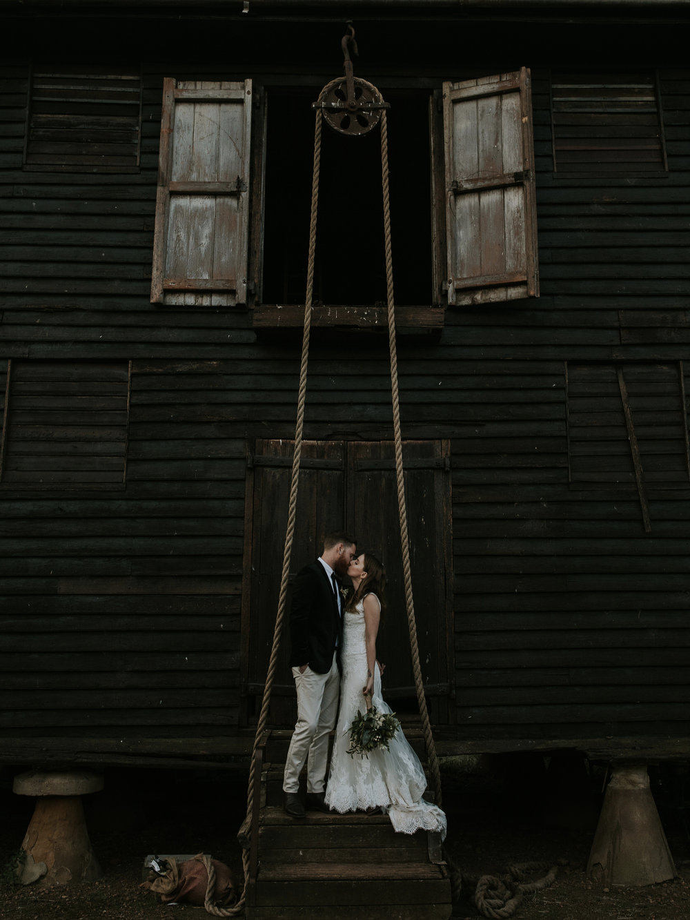 Lauren & Calhoun - Brickendon Estate, Tasmania