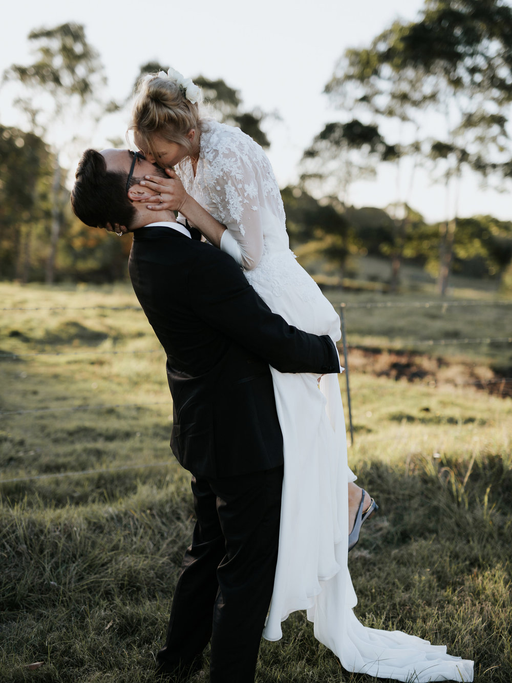 Cathryn & Eric - Fig Tree Restaurant, Byron Bay
