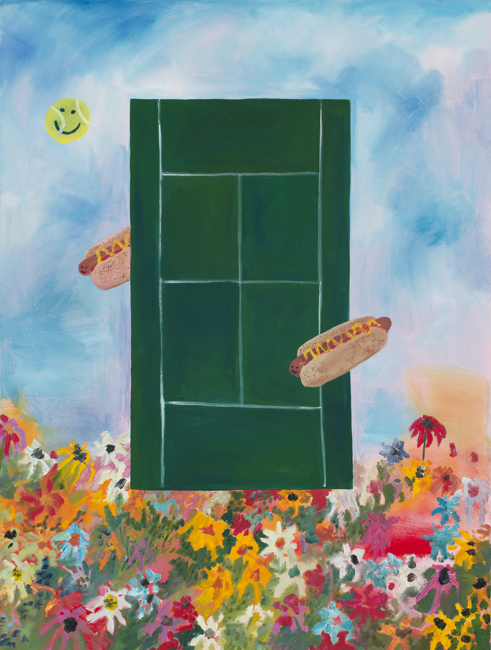 S.Osborne_If I played Tennis I Would Eat Hot Dogs at the Same Time, 2015.jpg