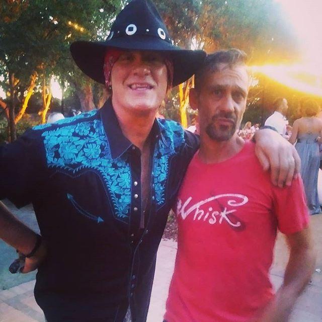 Meeting Axl Rose was priceless!!! #axlrose #rengstorffhouse