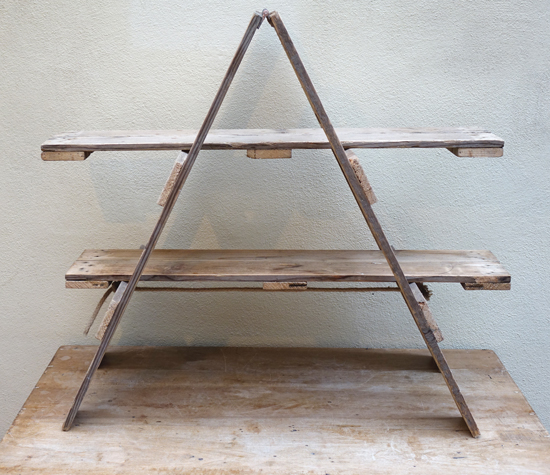 A Frame Shelf Unit £12